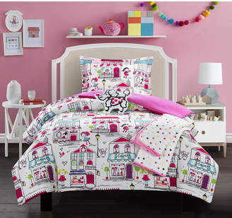 Chic Home Kid's City 5 Piece Full Comforter Set Bedding
