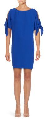 Vince Camuto Knot Accented Shift Dress $148 thestylecure.com