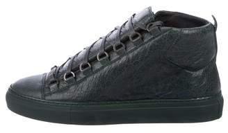 Balenciaga Arena Leather Sneakers w/ Tags