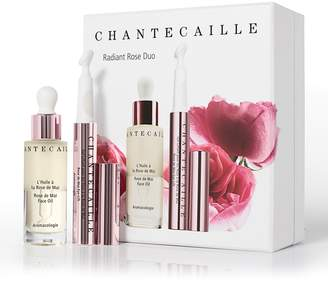 Chantecaille Radiant Rose Face Oil and Eye Gel Duo