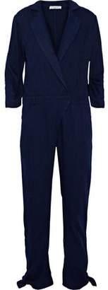 Halston The Pant Denim Jumpsuit