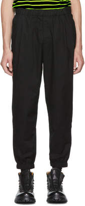 McQ Black Casual Track Trousers
