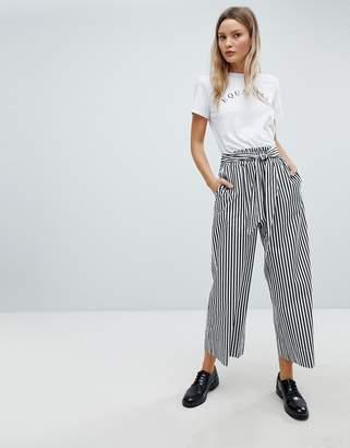 InWear Polina Stripe Wide Leg Pants