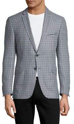 Strellson Checkered Suit Jacket