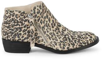 Dolce Vita Scarla Leopard Suede Booties