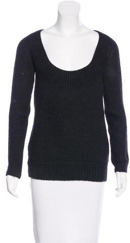 Vanessa BrunoVanessa Bruno Scoop-Neck Knit Sweater