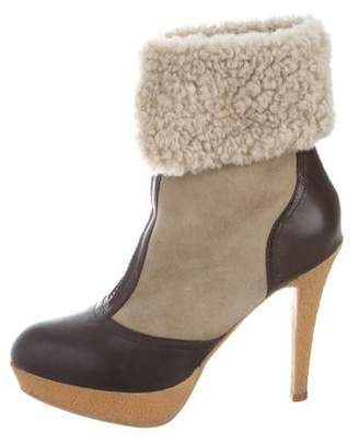 Lola Cruz Suede Ankle Boots