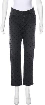 Stella McCartney Mid-Rise Straight-Leg Jeans
