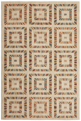 Mohawk Home Studio Rainbow Squares Printed Rectangular Indoor Area Rug