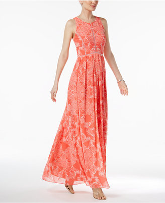 Vince Camuto Printed Maxi Dress $188 thestylecure.com