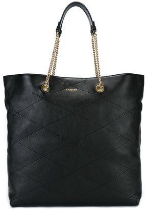 Lanvin shopper tote $1,850 thestylecure.com
