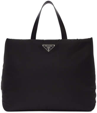 Prada Black Medium Nylon Tote