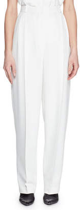 The Row Pica High-Waist Tapered-Leg Pants