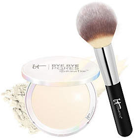 It Cosmetics Bye Bye Pores Pressed Illuminationwith Brush