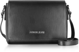 Armani Jeans Black Medium Signature Shoulder Bag