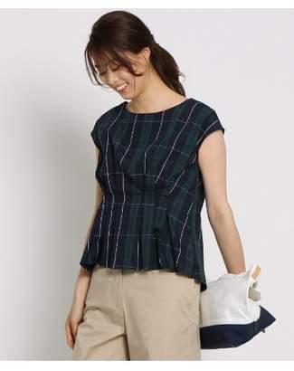 Dessin (デッサン) - Ladies [洗える]チェックタックブロードシャツ