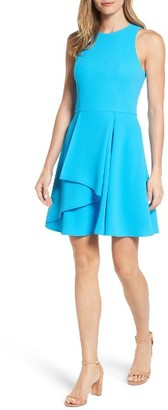 Women's Adelyn Rae Athena Fit & Flare Dress $98 thestylecure.com
