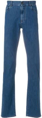 Canali straight-leg denim jeans