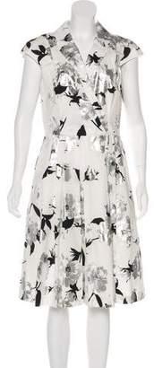 Lela Rose Short Sleeve Midi Dress w/ Tags