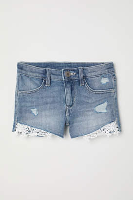 H&M Denim Shorts - Blue
