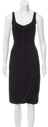 Angelos Frentzos Sleeveless Midi Dress