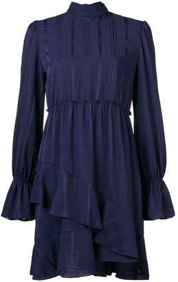 See by Chloe asymmetric ruffle-hem dress