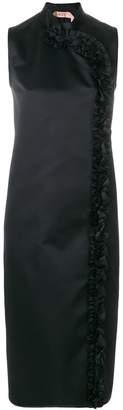 No.21 ruffled trim dress