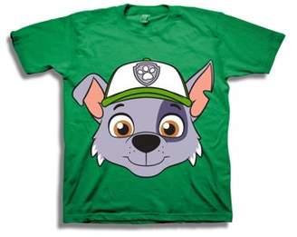 PAW Patrol Rocky Short Big Face Short Sleeve Shirt (Toddler Boys)