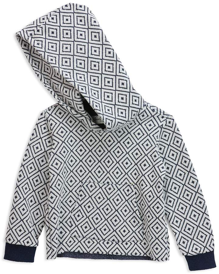 Boys' Diamond Print Hoodie - Little Kid, Big Kid