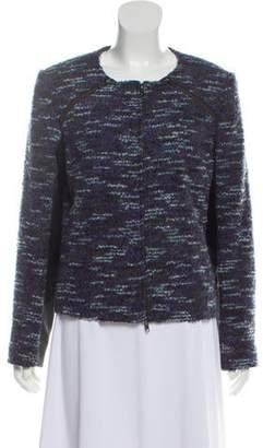 Magaschoni Structured Bouclé Knit Jacket