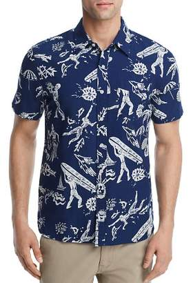 Levi's LEVI'S Hawaiian Regular Fit Button-Down Shirt
