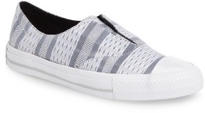 converse gray slip on r9q5  Converse Women's Gemma Slip-On Sneaker