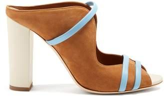 Malone Souliers Maureen suede block-heel sandals