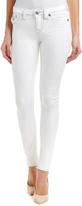 True Religion Optic White Super Skinny Leg