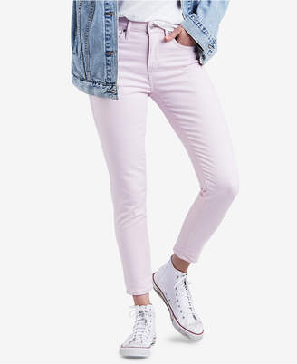 Levi's 721 High-Rise Ankle Skinny Colored Jeans