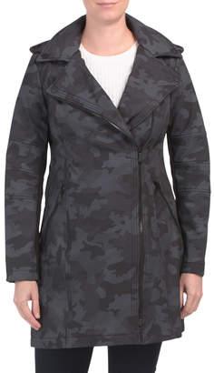 Military Asymmetrical Zip Softshell Jacket