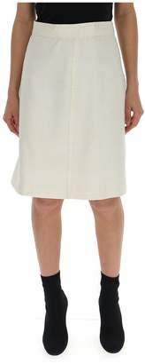 Bottega Veneta Checkered Skirt