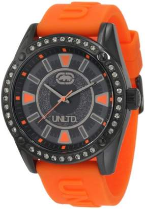 Ecko Unlimited Men's 'The Element' Quartz Stainless Steel and Silicone Casual Watch