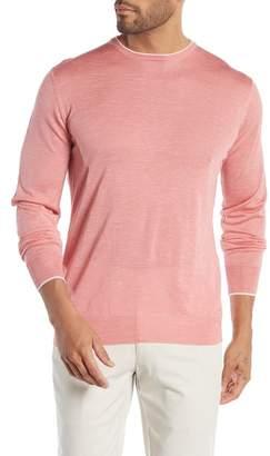 Peter Millar Summertime Knit Merino Wool, Silk,& Linen Blend Sweater