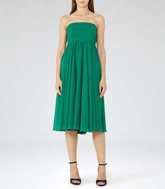 Reiss Athena Strapless Layered Dress