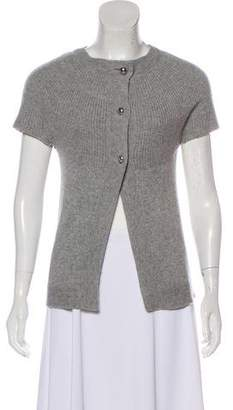 Alice + Olivia Cashmere Button-Up Cardigan