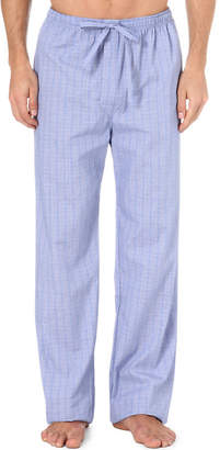 Derek Rose Felsted light checked lounge trousers