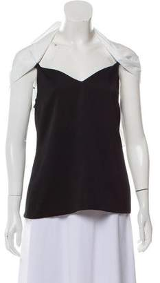 Ellery Sleeveless Tie-Accented Top w/ Tags