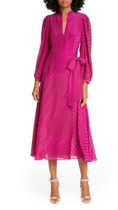 Tanya Taylor Marcella Long Sleeve Dress