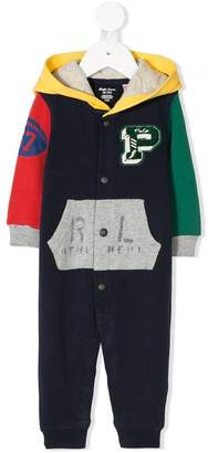 Ralph Lauren colour block onesie