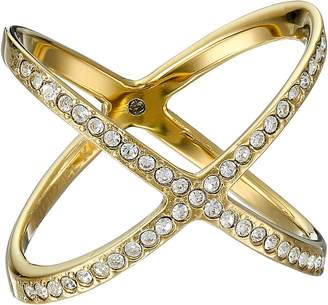 Michael Kors Brilliance Pave X Ring Ring