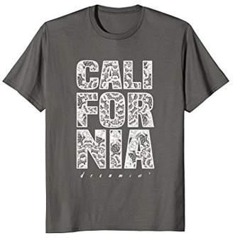 California dreaming Mandala Aztec Pattern T-shirt