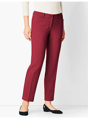 Talbots Hampshire Compact Crepe Ankle Pant
