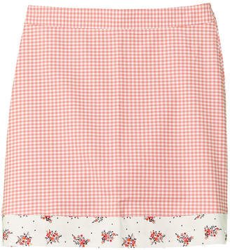 Brooks Brothers Girls' Mixed Media Skirt