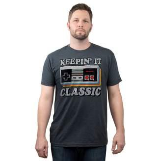 "Fifth Sun Big & Tall Nintendo Controller ""Keepin' It Classic"" Graphic Tee"